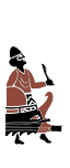 Trihemiolia da inseguimento - Popolo tribale