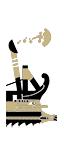 五排漿座輕型羅馬炮艦 - 凱爾特弩炮(船上)