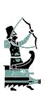 Penteres de proyectiles - Arqueros ligeros persas