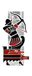 Quinquerreme de proyectiles - Arqueros cretenses auxiliares
