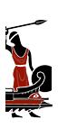 Geschoss-Triere - Numidische Auxiliarspeerträger