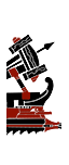 五排漿座中型輕炮艦 - 羅馬石弩(船上)