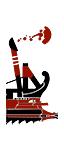 五排漿座中型炮艦 - 羅馬弩炮(船上)
