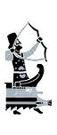 五排漿座中型弓箭艦 - 波斯輕裝弓箭手