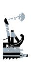 五排漿座中型炮艦 - 希臘弩炮(船上)