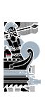 六排漿座大型攻擊艦 - 皇家輕盾兵