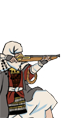 Ikko Ikki Matchlock Warrior Monks