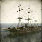 Wooden Frigate - Kaiyo Maru class