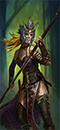 Embaucadores de Loec (Bailarines Guerreros - lanzas Asrai)