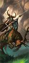 狂野骑兵(佩盾)
