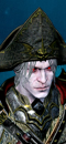 Vampire Fleet Admiral (Polearm - Death) (Rotting Promethean)