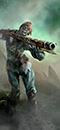 Zombie Pirate Gunnery Mob (Handguns)