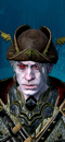 Vampire Fleet Admiral (Polearm - Deep) (Rotting Promethean)