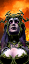 Supreme Sorceress (Fire) (Dark Steed)