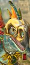 Skink Priest (Beasts) (Stegadon)