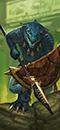 Saurus Spears (Shields)