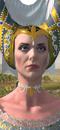 Prophetess (Life) (Bretonnian Barded Warhorse)