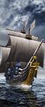 盖伦大帆船 - 长矛步兵团(持盾)