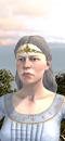 Damsel (Life) (Barded Warhorse)