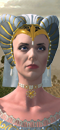 Prophetess (Heavens) (Barded Warhorse)