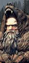 Hechicero Ámbar (Caballo de Guerra con barda)
