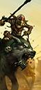 Goblin-Wolfsreiter